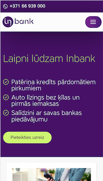 Inbank : Development, Support