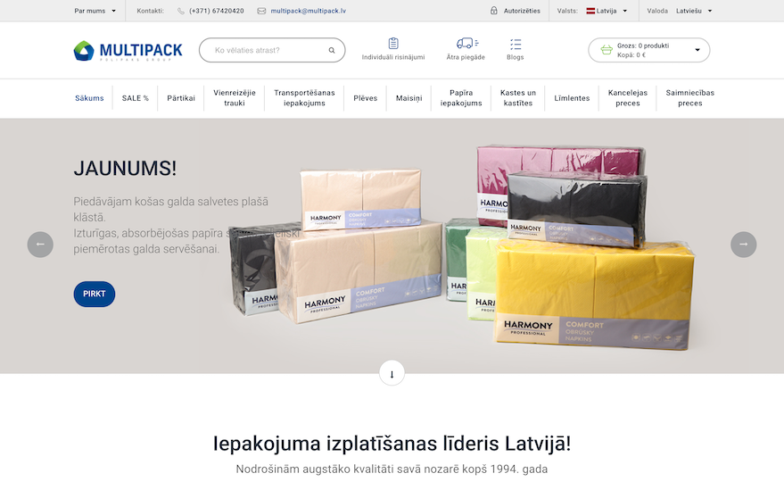 Multipack : Planning, Design, Development